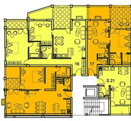 Galeria, Part B, Ground floor map - Click to zoom